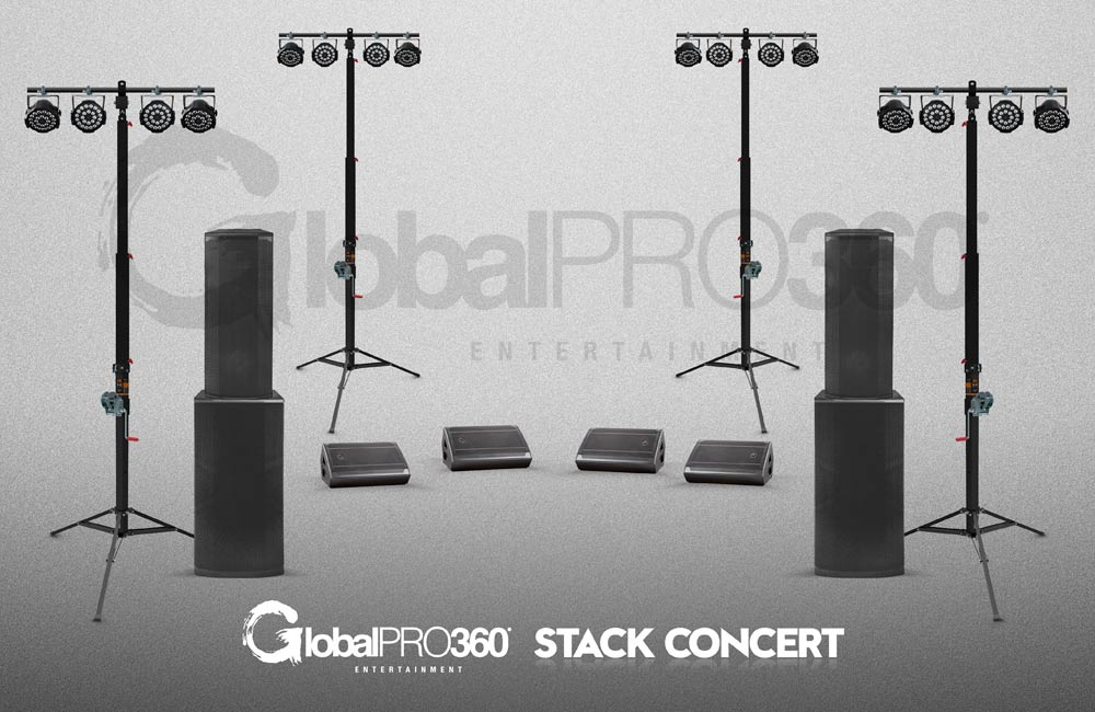 pack stack concert