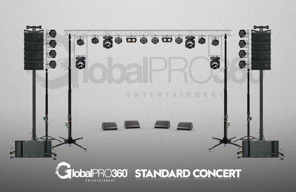 pack standard concert